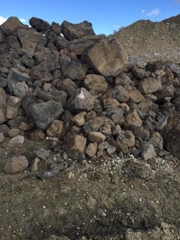 Boise Gravel Co Basalt Boulders