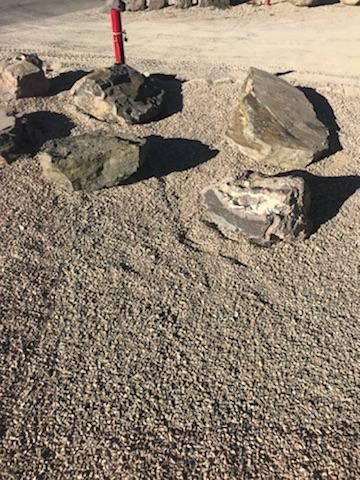 Small Shale Landscaping Boulders